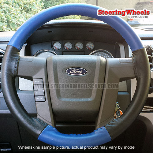 Ford 2015 F150 Steering Wheel Cover Wheelskins Euro Tone