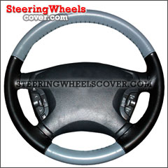 Wheelskins Steering Wheel Cover Euro Tone Two Color