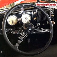 Ford Banjo Custom-Size Wheelskins Steering Wheel Cover