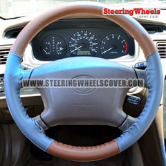 1997 Toyota Camry Wheelskins Steering Wheel Cover 2 Color