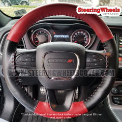 Dodge Challenger Wheelskins Steering Wheel Cover