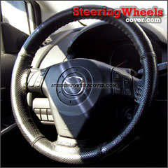 2008 Mazda Mazda5 Wheelskins Steering Wheel Cover Euro-Perforated