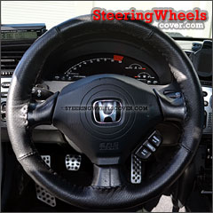 2004 Honda S2000 Wheelskins Steering Wheel Cover Euro-Perforated