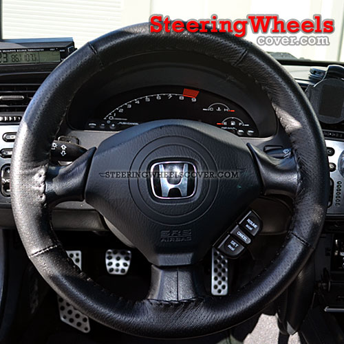 2004 Honda S2000 Wheelskins Steering Wheel Cover Euro Perforated