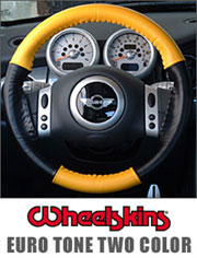 Wheelskins Steering Wheel Cover Euro-Tone