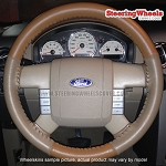 Ford 2006 F150 Wheelskins Steering Wheel Cover (Euro-Tone, Size 15 3/4 x 3 7/8)