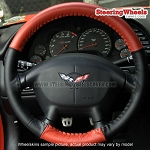 Chevrolet 1997 Corvette Wheelskins Steering Wheel Cover (Euro-Tone, Size C)