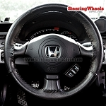 Honda 2002 S2000 Wheelskins Steering Wheel Cover (Euro-Perforated, Size 14 1/4 x 4)