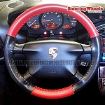 Porsche 1997 Boxster Wheelskins Steering Wheel Cover (Euro-Perforated, Size AXX)
