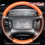 Dodge 1998 Ram Truck Wheelskins Steering Wheel Cover (Euro-Perforated, Size AXX)