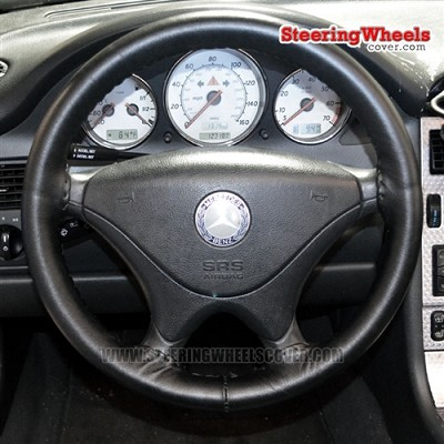 Mercedes Benz 1998 (C, E, S Class) Wheelskins Steering Wheel Cover (One Color, Size C)