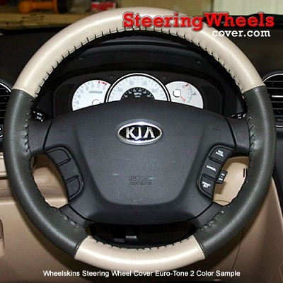 Mercedes Benz 1999 CLK Wheelskins Steering Wheel Cover (Euro-Tone, Size 14 1/2 x 4 3/8)