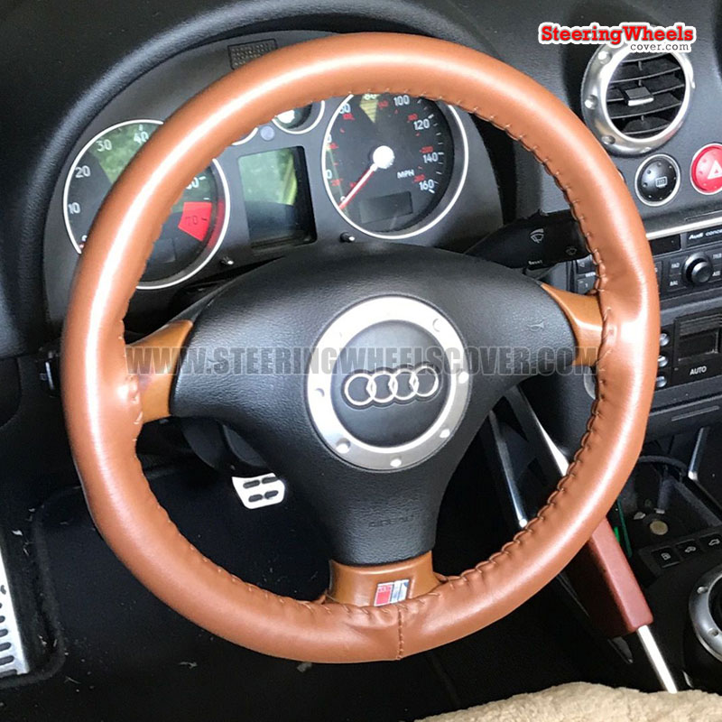 Audi 2001 TT Wheelskins Steering Wheel Cover (One Color, Size C)